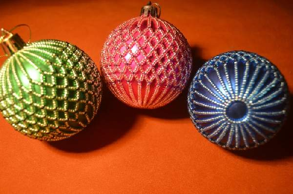 текстильные новогодние игрушки своими руками, фото 34