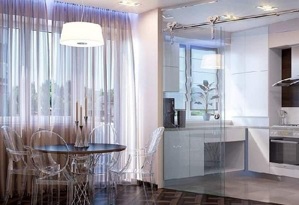 Зонирование кухни гостиной 20 кв м фото, фото 9