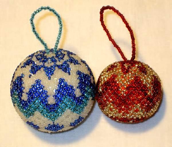 новогодние игрушки из текстиля своими руками, фото 35