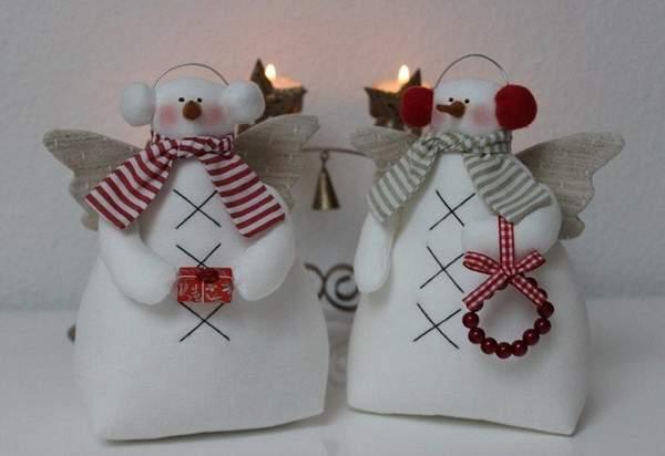 шьем новогодние игрушки из фетра своими руками, фото 38
