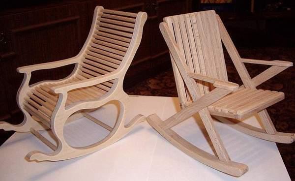 кресло качалка +своими руками чертежи из фанеры, фото 28