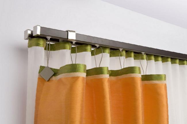 багетные карнизы для штор настенные фото, фото 39