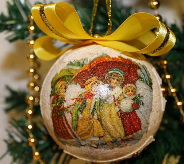 винтажные новогодние игрушки своими руками, фото 14