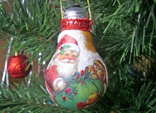 новогодние игрушки на елку своими руками видео, фото 19