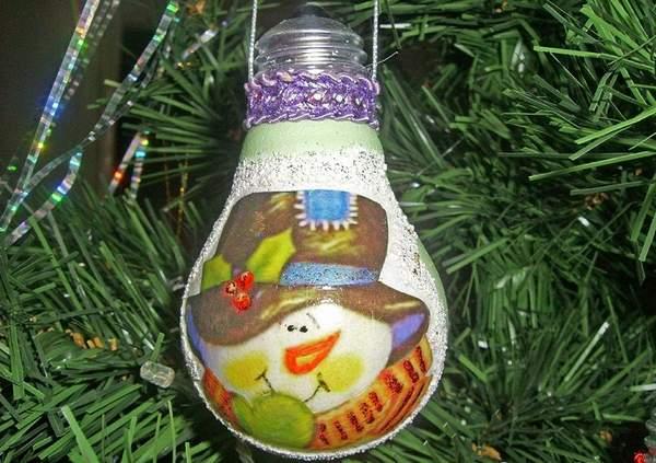 новогодние игрушки на елку своими руками поэтапно, фото 20