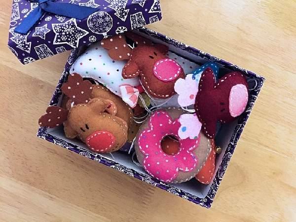 текстильные новогодние игрушки своими руками, фото 4
