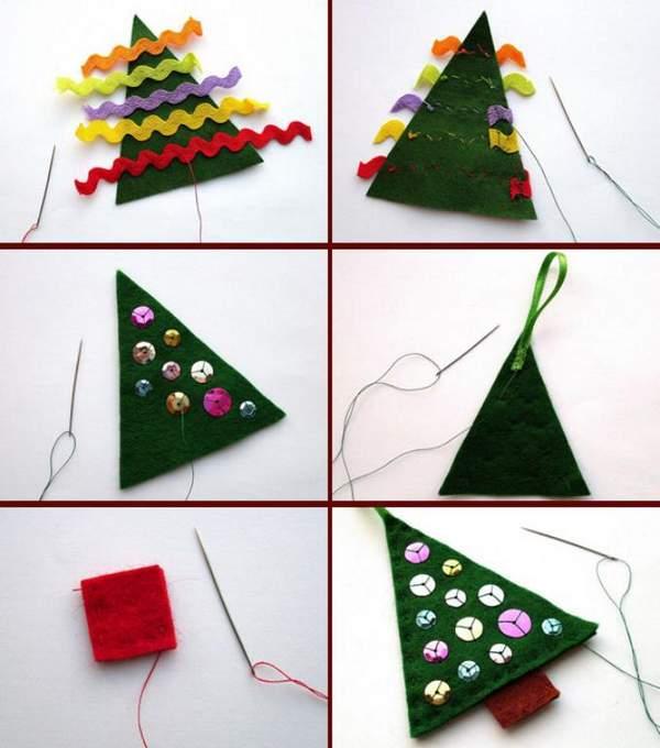 объемные новогодние игрушки из бумаги своими руками, фото 49