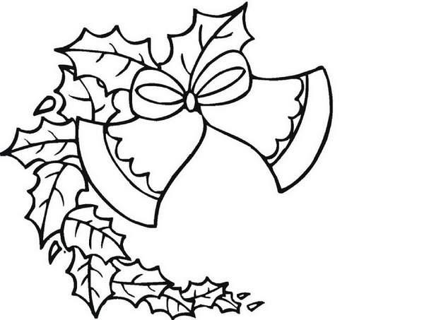 раскраска гирлянда новогодняя, фото 21