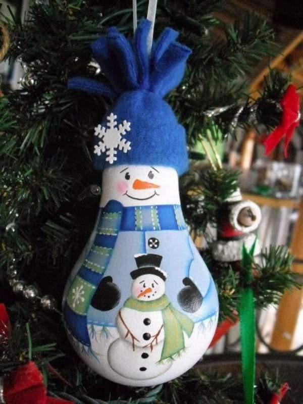 Новогодние игрушки на елку своими руками из бумаги, фото 24