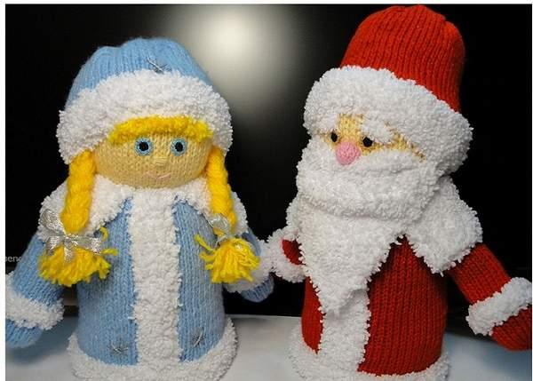 вязаные новогодние игрушки своими руками, фото 9