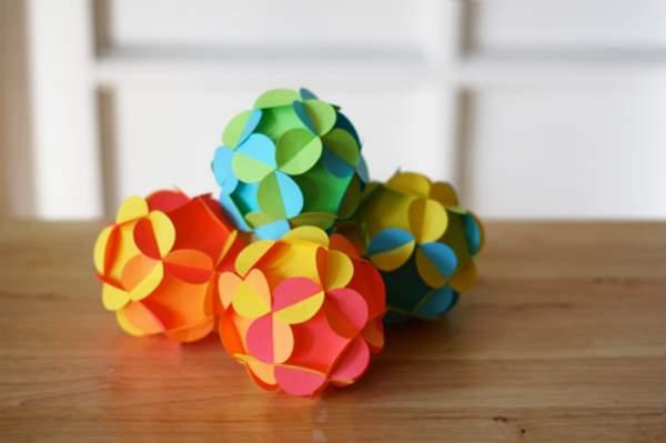 делаем новогодние игрушки своими руками из бумаги, фото 16