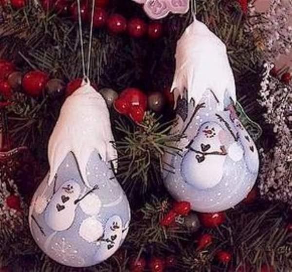 новогодние игрушки на елку своими руками, фото 26