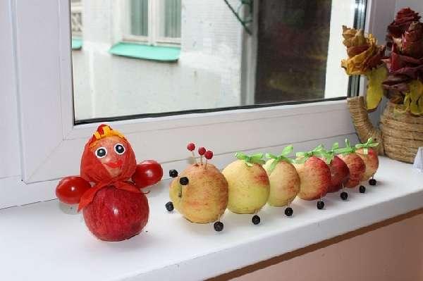 поделки из фруктов своими руками, фото 45