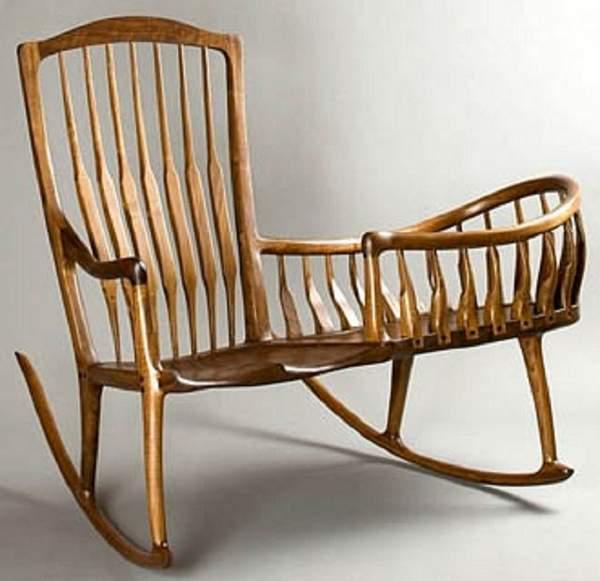 как сделать кресло качалку своими руками, фото 3
