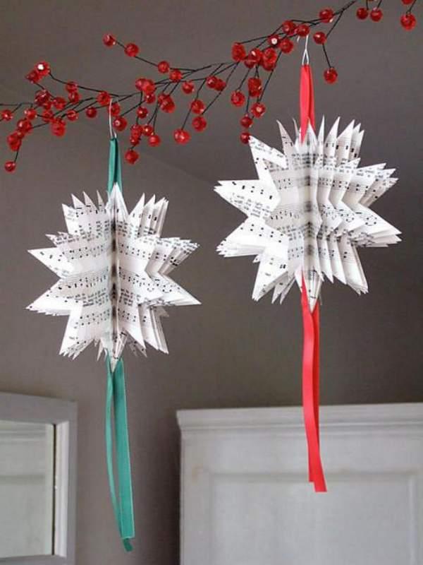 новогодние игрушки из бумаги своими руками ангелы, фото 19