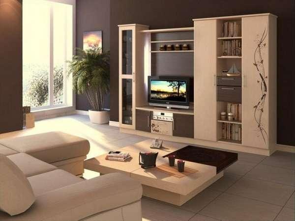стенка в гостиную в современном стиле, фото 1