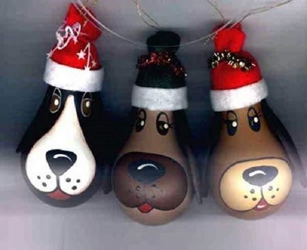 маленькие новогодние игрушки своими руками, фото 22