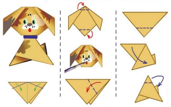 Новогодние игрушки своими руками из бумаги, фото 24
