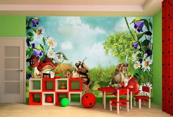 детские фотообои на стену фото, фото 16