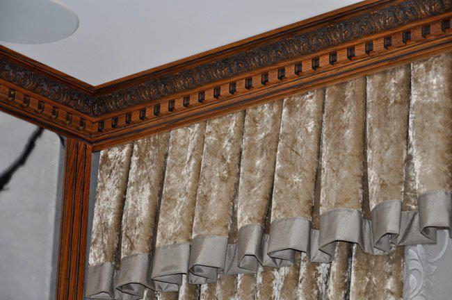 багетные карнизы для штор настенные фото, фото 27