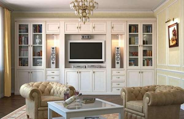 современные стенки в гостиную, фото 3