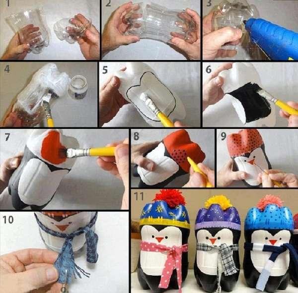 поделки из пластиковых бутылок своими руками, фото 15