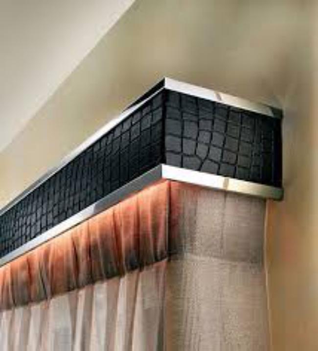 алюминиевые карнизы для штор настенные, фото 40