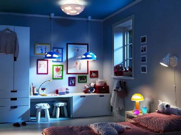 детские настенно потолочные светильники, фото 27