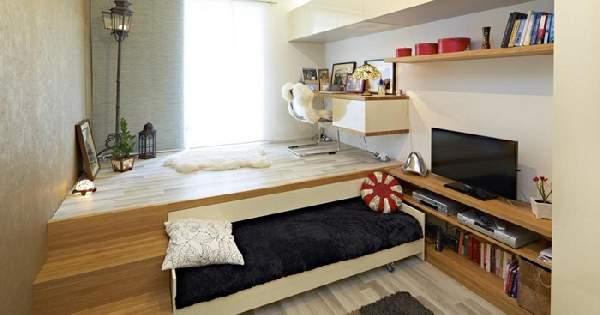 зонирование однокомнатной квартиры, фото 31