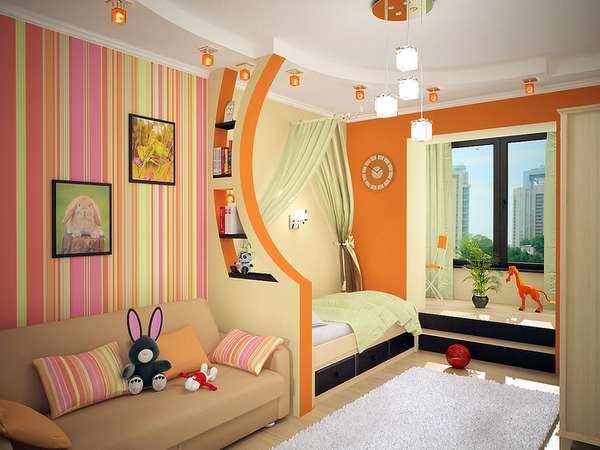 Интерьер детской комнаты для мальчиков, фото 1