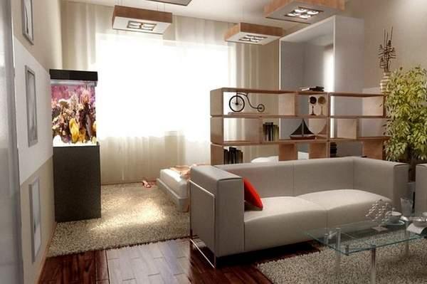 как расставить мебель в однокомнатной квартире, фото 1