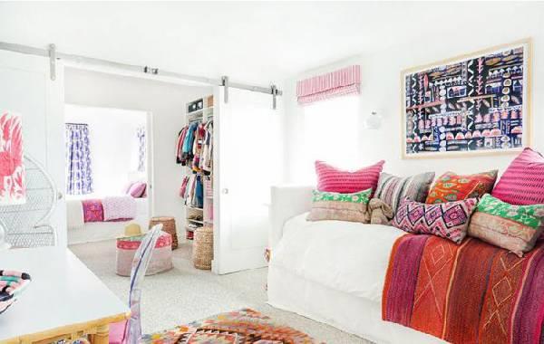 интерьер детской комнаты для двух девочек фото, фото 10