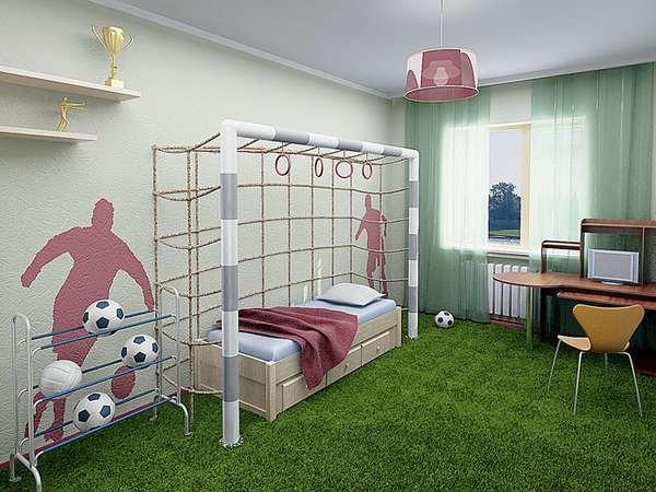 интерьер детской комнаты для мальчика 5 лет, фото 10