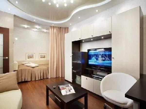 зонирование комнаты в однокомнатной квартире фото, фото 15
