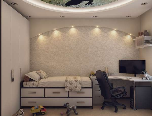 Интерьер детской комнаты для мальчиков, фото 11