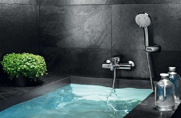 смеситель для ванны с коротким изливом, фото 16