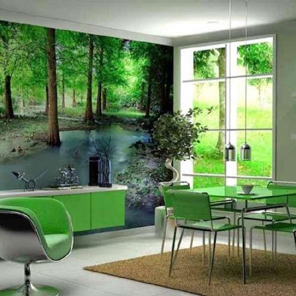 фотообои на стену для кухни фото 3д, фото 12