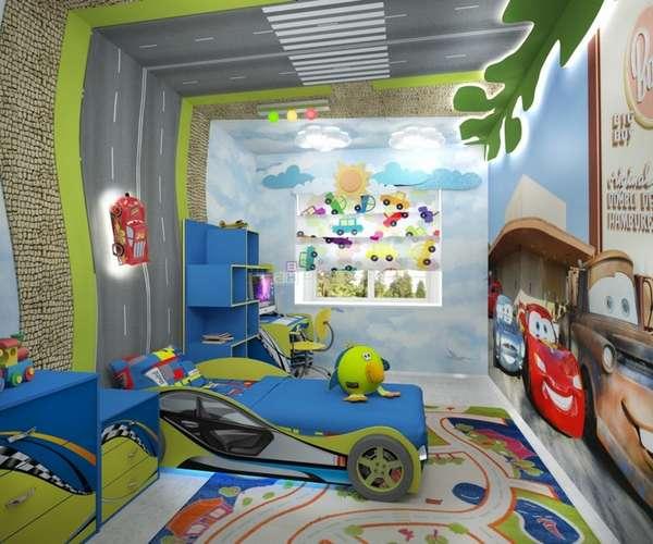 интерьер детской комнаты для мальчика 7 лет, фото 12