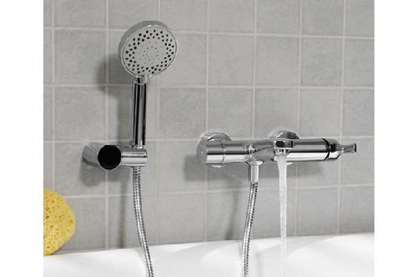 смеситель для ванны с коротким изливом, фото 17