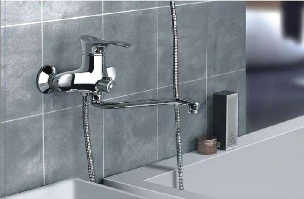 смеситель для ванны с поворотным изливом, фото 20