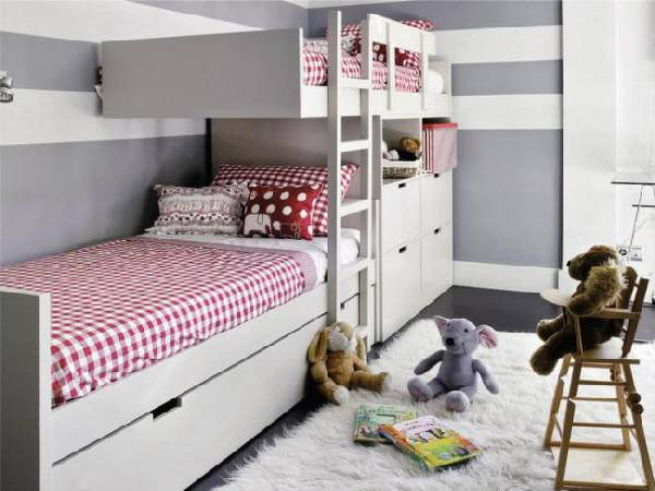 интерьер детской комнаты для двух мальчиков фото, фото 13