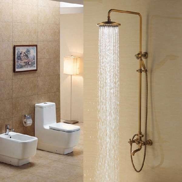 смесители для ванны бронза, фото 5