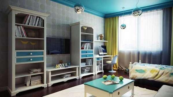 интерьер детской комнаты для мальчика, фото 15