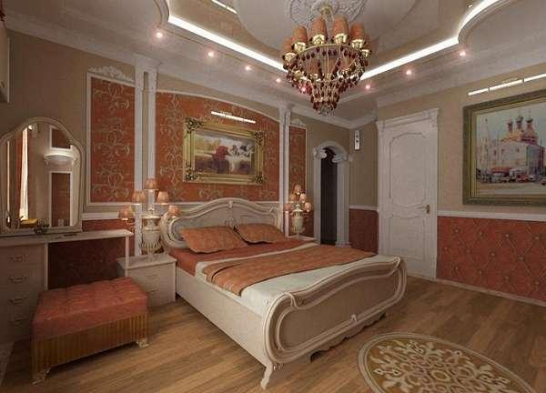 фигурные потолки из гипсокартона фото, фото 30