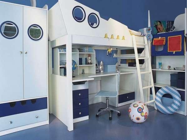 интерьер детской комнаты для мальчика 7 лет, фото 16