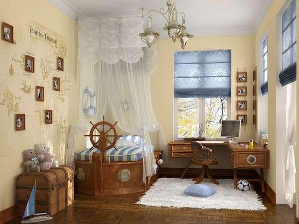 идеи интерьера для детской комнаты для мальчика, фото 17