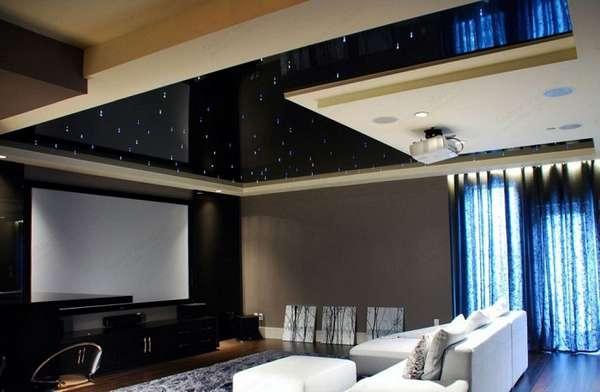 многоуровневые потолки из гипсокартона, фото 12