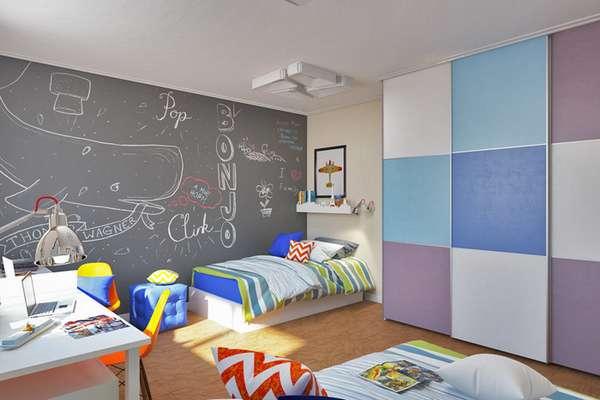 интерьер детской комнаты для мальчика 7 лет, фото 18