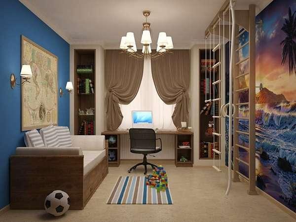 идеи интерьера для детской комнаты для мальчика, фото 19