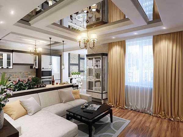 многоуровневые потолки из гипсокартона фото, фото 14